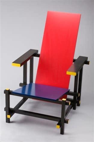 stuhl rot blau by gerrit rietveld on artnet - Stuhl Blau