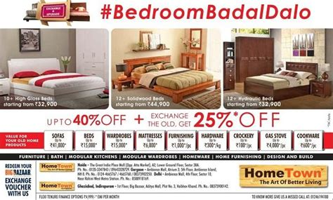 Home Design Outlet Center Discount Codes by Hometown Delhi Store Outlets Deals Sales 2015 Offers