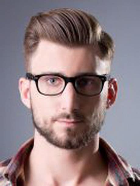 Cool Hairstyles For Guys With Glasses by Frisuren M 228 Nner 2015 Kurz
