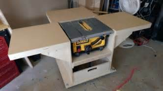 Cabinet Table Saws Mobile Stand For My New Table Saw