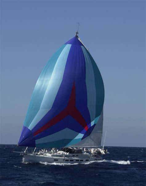 sailboats under sail blue spinnaker under sail sailing sailing