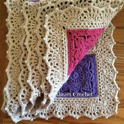 Crochet Edges On Blankets by Crochet Borders To Try Out Cottageartcreations