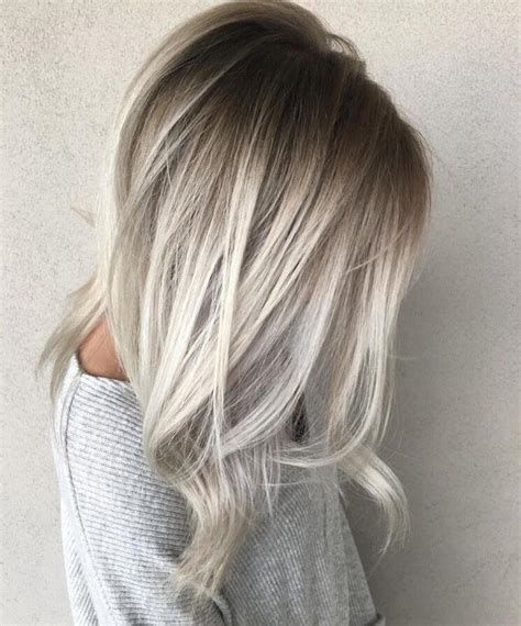 hair color darker and the roots and lighter blonde 50 platinum blonde hairstyle ideas for a glamorous 2018