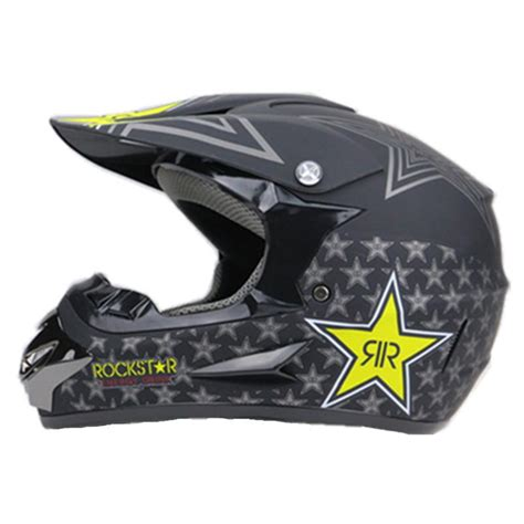 motocross helmet rockstar bull energy atv road motocross helmet