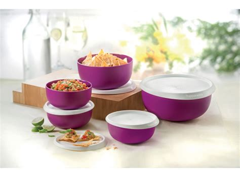 Tupperware Multi Bowl Set blossom bowl set tupperware plus