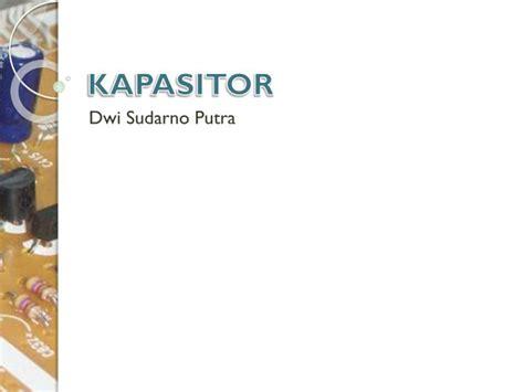 ppt kapasitor powerpoint presentation id 3554041