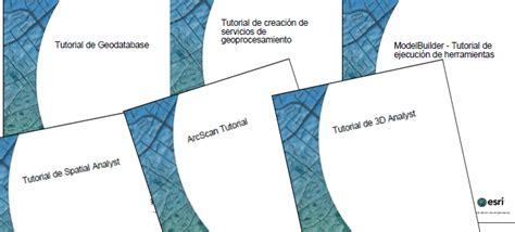 tutorial arcgis 10 2 pdf tutoriales oficiales de arcgis 10 en espa 241 ol en formato