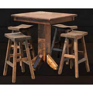 Rustic Bar Table Rustic Pub Table Rpt4042 Pub Tables And Stools Furniture
