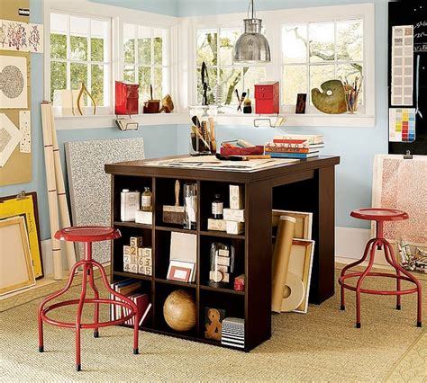 pottery barn craft room how to make a pottery barn craft table home ideas