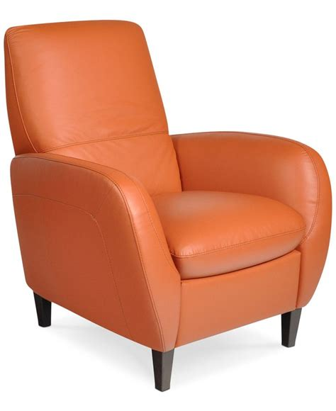 Macy Chairs Recliners comes in brown leather recliner chair