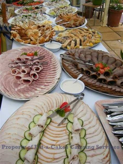 Wedding Buffet Menu Ideas Trays Events And Sandwich Menu On