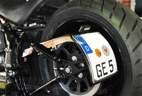 Motorrad Fahren Ohne Kennzeichen by Selbstleuchtendes Kennzeichen S 3 Milwaukee V Twin