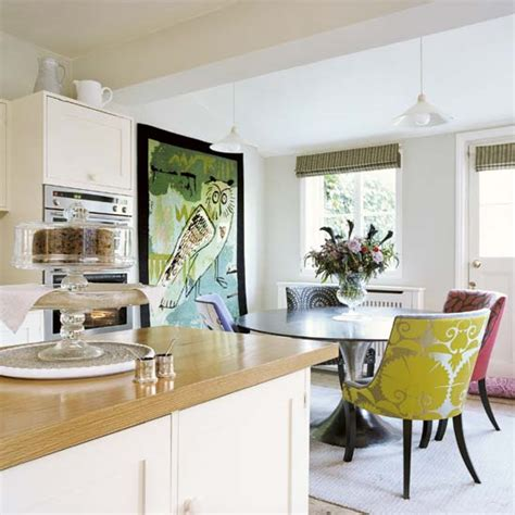 dining kitchen ideas how to bright up a boring kitchen