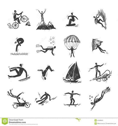trips of a ranchman sketches of sport on the northern cattle plains classic reprint books sports icons sketch stock vector image 41638591