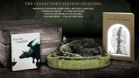 Ps4 The Last Guardian Collectors Edition Reg 3 the last guardian cette 201 dition collector qui rend amoureux