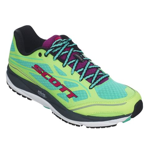 cushioned support running shoes palani support for in green and purple at