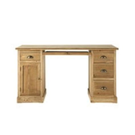 bureau en u bureau en bois p 233 rigord maisons du monde
