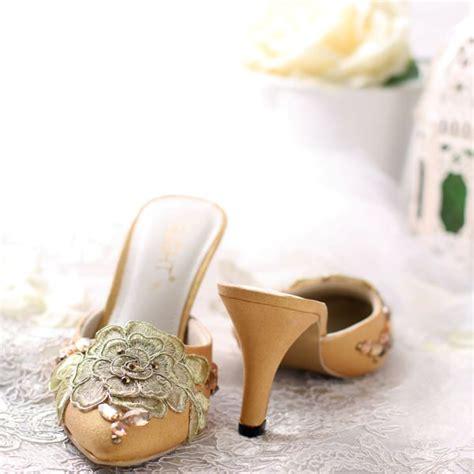 High Heels Sandal Selop sandal selop rosanne emas