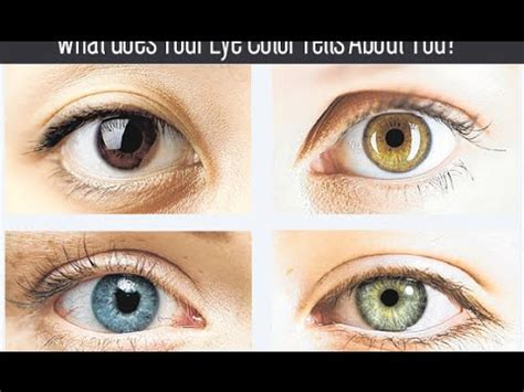 what does my eye color what does your eye color says about your personality
