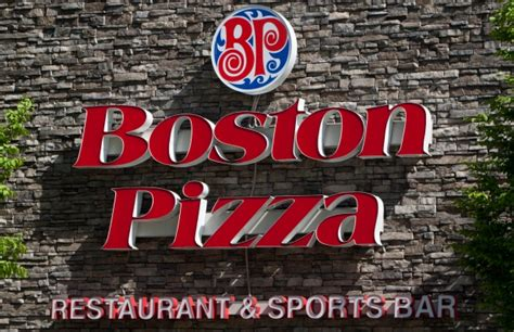 Boston Pizza Ottawa St Kitchener by Boston Pizza Charged With Serving After Pedestrian