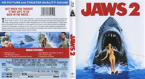 Two Cover by Jaws 2 Cover Labels 1978 R1