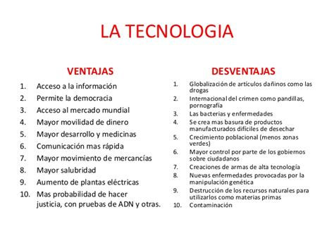 imagenes positivas de la tecnologia la tecnologia ventajas y desventajas y conclusion