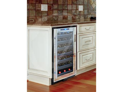 built in bar built ins and wine fridge on pinterest 33 bottle built in touch screen wine cooler by vinotemp