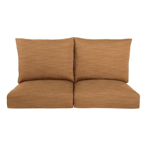 outdoor loveseat cushion replacement brown jordan highland replacement outdoor loveseat cushion