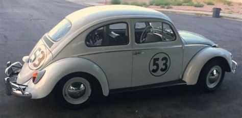 volkswagen beetle classic herbie 1963 volkswagen beetle herbie stripes nevada car runs
