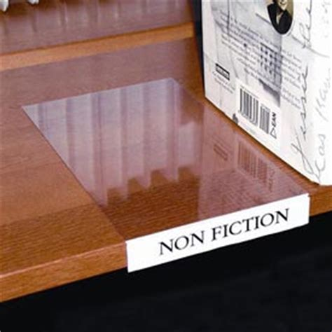 Movable Shelf Label Holders by Shelving Labels Signs Card Holders Label Holder