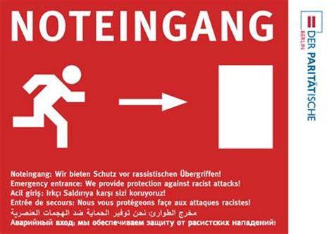 Berlin Pass Aufkleber by Schutz Vor Rassistischen 220 Bergriffen Stadtteilzentrum