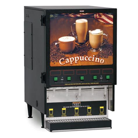 Bunn FMD 5 Instant Cappuccino Machine   Coffee Makers USA
