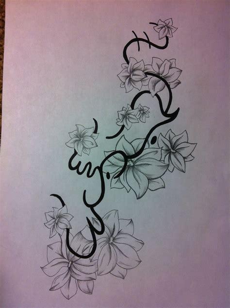 tattoo alibata designs of ink alibata simpaguita flower design for
