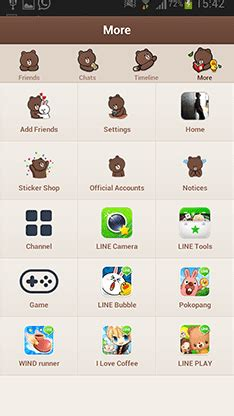 theme line lucu cara download theme line brown jalantikus com