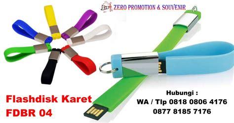 Flash Disk Usb Kunci Warna Warni 16gb jual flashdisk karet gantungan kunci fdbr04 usb karet gantungan kunci barang promosi mug