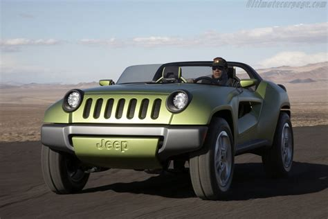 jeep renegade concept 2008 jeep renegade concept images specifications and