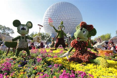Fun Food Music And More On Tap For Epcot S Flower And Epcot Flower And Garden Festival Food