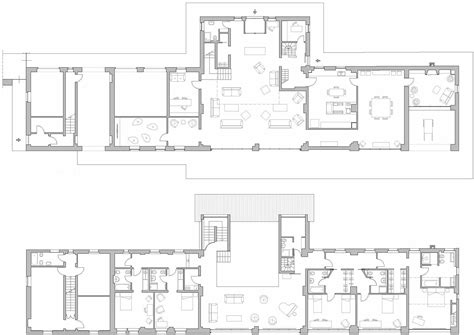 ground floor plans rustic farmhouse in rosignano