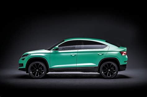 skoda coupe skoda kodiaq gt coup 233 bound for europe autocar
