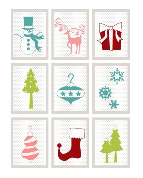 printable christmas memory game 9 best images of printable christmas memory game