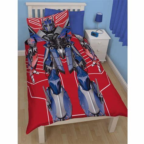 transformer bed set transformers single duvet cover sets various designs