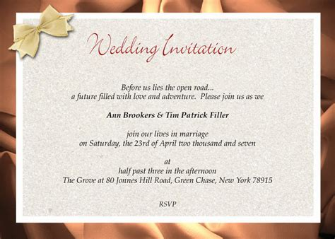 Wedding Invitations Formal by Formal Wedding Invitations Wording 2388303 171 Top Wedding