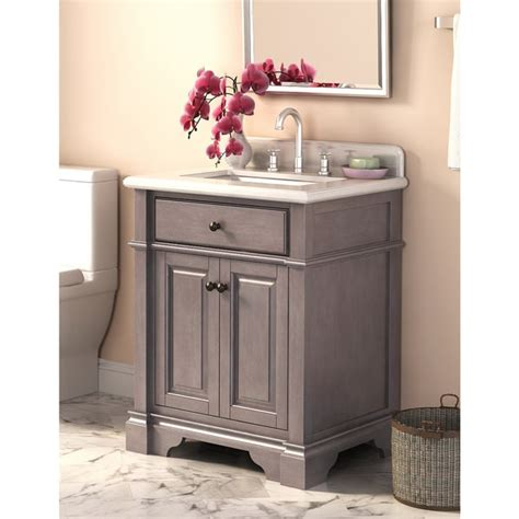 28 Bathroom Vanity Cabinet Casanova 28 Inch Vanity With Backsplash 17677297 Overstock Shopping Great Deals On