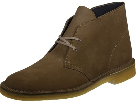 clarks desert boot shoes brown
