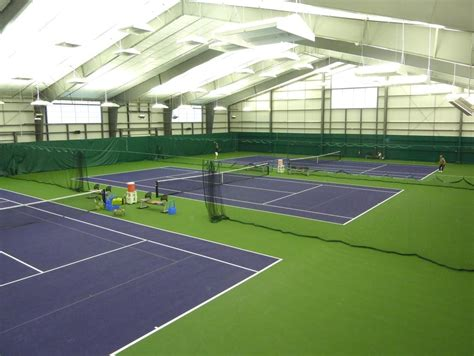indoor tennis courts lsi illuminates indoor tennis facility with indirect led lighting leds