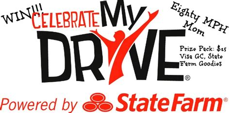 State Farm Gift Card - celebrate my drive with kelly clarkson