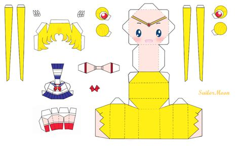 Sailor Moon Papercraft - sailormoon by pipubanh on deviantart