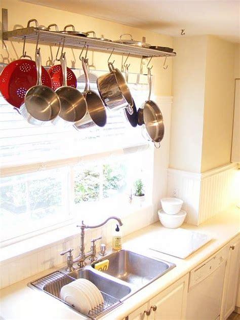 Window Pot Rack Pot Racks Window And Hanging Racks On