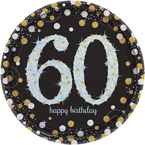 design love fest paper plates 8 gold celebration age 60 paper plates silver gold black