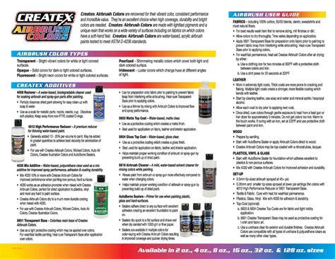 createx airbrush colors createx colors airbrush paint direct
